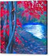 A Delicate Autumn Canvas Print