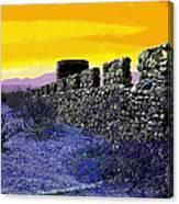 A Desert Host 2 Canvas Print