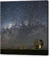 A Galactic View From The Observation Deck Canvas Print