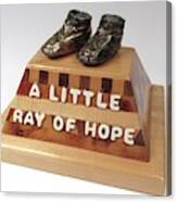 A Litrle Ray of Hope Canvas Print