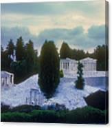 A Little Bit Of Athens Canvas Print