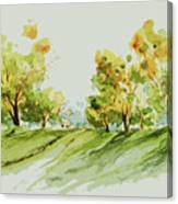 A Simple Landscape Canvas Print
