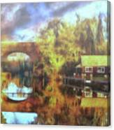 A Stop Along The Wey Canvas Print