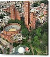 A View Of Downtown Bogota Canvas Print