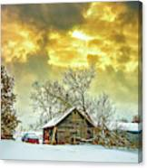 A Winter Eve Canvas Print