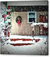 A Wisconsin Christmas Canvas Print