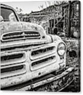 Abandoned Ghost Town Studebaker Truck Canvas Print