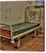 Abandoned Hospital Bed Canvas Print