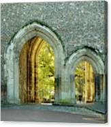 Abbey Gateway St Albans Hertfordshire Canvas Print