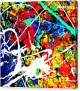 abstract composition K12 Canvas Print
