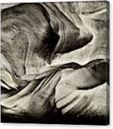 Abstract In Sandstone Slots Canvas Print