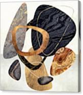 Abstract Pebbles IIi Canvas Print