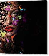 Abstract Portrait No 12 Canvas Print