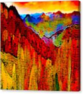 Abstract Scenic 3 Canvas Print
