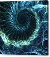 Abstract Swirl Pattern Canvas Print