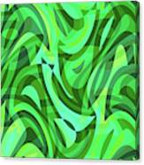 Abstract Waves Painting 0010075 Canvas Print
