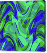 Abstract Waves Painting 0010094 Canvas Print
