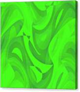 Abstract Waves Painting 0010100 Canvas Print
