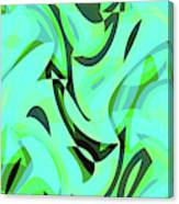 Abstract Waves Painting 0010107 Canvas Print