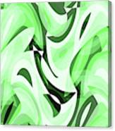 Abstract Waves Painting 0010108 Canvas Print