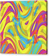 Abstract Waves Painting 0010109 Canvas Print