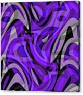 Abstract Waves Painting 0010115 Canvas Print