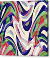 Abstract Waves Painting 0010118 Canvas Print