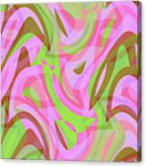 Abstract Waves Painting 007188 Canvas Print