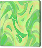 Abstract Waves Painting 007216 Canvas Print