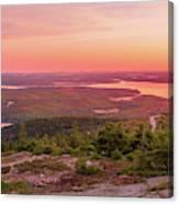Acadia National Park Sunrise  Canvas Print
