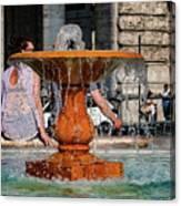 Acqua For Marcus Canvas Print