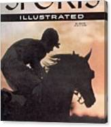 Activate, 1956 Flamingo Stakes Sports Illustrated Cover Canvas Print
