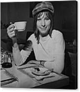 Actress And Singer Barbra Streisand Canvas Print