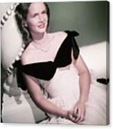 Actress Debbie Reynolds Canvas Print