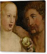 Adam And Eve, 1517  Canvas Print