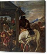 Adoracion De Los Reyes Magos   Canvas Print