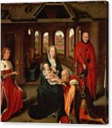 Adoration Of The Kings Canvas Print