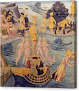 Adventures Of Ulysses, Detail Canvas Print