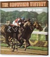 Affirmed And Alydar, 1978 Belmont Stakes Sports Illustrated Cover Canvas Print