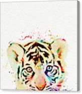 African Animal Canvas Print
