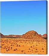 African Desert Panorama Canvas Print