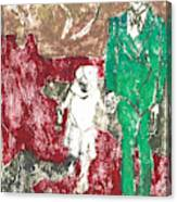 After Billy Childish Painting Otd 43 Canvas Print