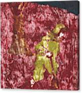 After Billy Childish Painting Otd 7 Canvas Print