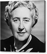Agatha Christie Canvas Print
