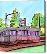 Agawam Diner Canvas Print