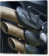 Agusta Racer Pipes Canvas Print