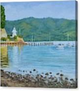 Akaroa Yacht Club Canvas Print