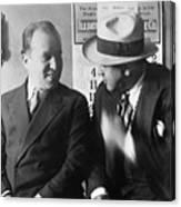 Al Capone And Benjamin Epstein Canvas Print
