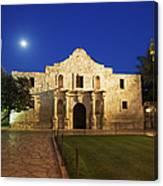 Alamo Mission, San Antonio, A Famous Canvas Print
