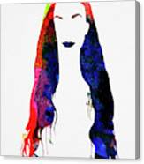Alanis Watercolor II Canvas Print